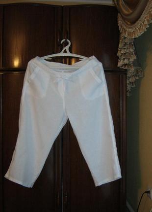 Штаны marks&spencer, 100% лен, размер 16/44