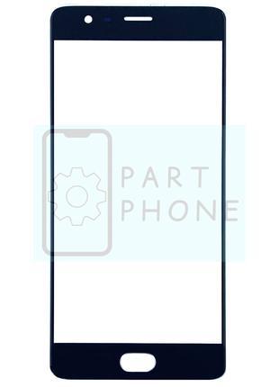 Стекло дисплея OnePlus 3, OnePlus 3T черное