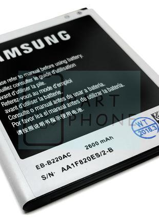 Аккумулятор Samsung B220AE B220AC B600BE B600BC оригинал Китай...