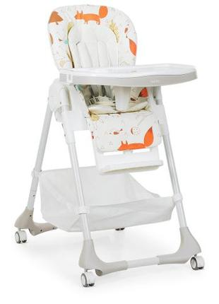 Детский стульчик для кормления M 3822-4 бежевый