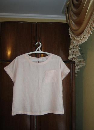 Блуза marks&spencer, 100% лен, размер 16/44