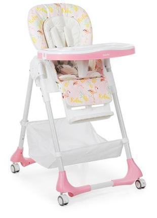 Детский стульчик для кормления M 3822-5 розовый