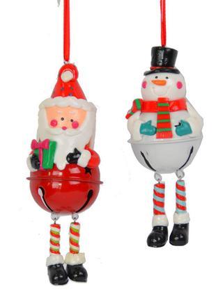 Новогодняя подвеска - бубенчик SKL79-208772