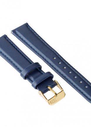 Ремешок для часов Ziz ночная синь, золото SKL22-142904