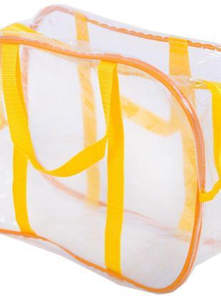 Компактная прозрачная сумка в роддом, для игрушек Organize, же...