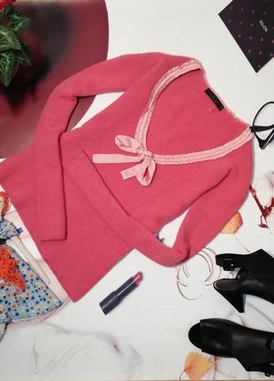Пуловер twin set by simona barbieri, шерсть, размер m/l, италия