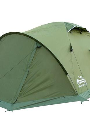 Палатка Tramp Mountain 4 м, TRT-024-green. Палатка туристическ...