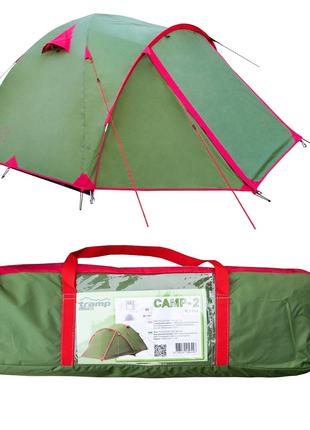 Палатка Tramp Lite Camp 2. Палатка туристическая. палатка тури...