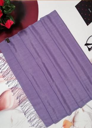 Палантин tie rack, 50% шерсть и 50% натуральный шелк