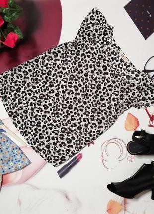 Красивая блуза h&m, 100% вискоза, размер xs/s