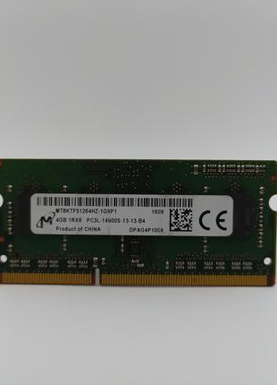Оперативная память для ноутбука SODIMM Micron DDR3L 4Gb 1866MH...