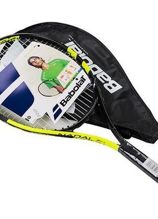 Ракетка для большого тенниса Babolat JR салатовая, длина 23 дю...