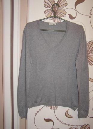 Тонкий свитерок премиум класса kangra cashmere, италия, р.46 и...