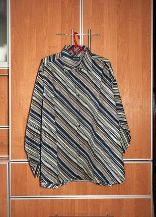 Брендовая стильная мужская рубашка biaggini