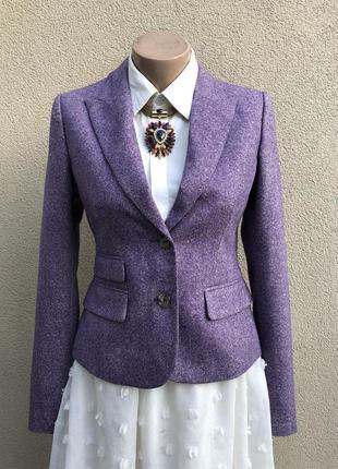 Красивый,шерстяной жакет,пиджак,блейзер,люкс бренд,оригинал, i...