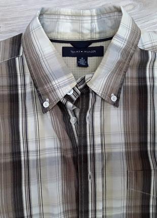 Рубашка Tommy Hilfiger ,оригинал .