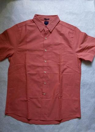 Reed edward men р.l рубашка 100% хлопок оригинал