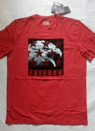 Чоловіча футболка under armour americana freedom eagle оригинал