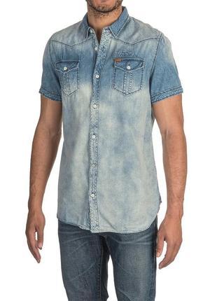 Рубашка мужская  buffalo р l оригинал