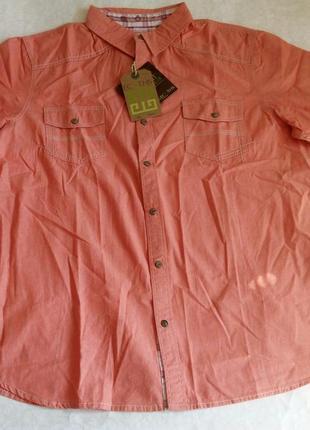 Рубашка мужская ecoths carson  p xl оригинал, органичный хлопок