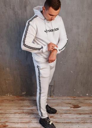 Теплый спортивный костюм adidas