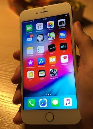 IPhone 6 Plus 16 GB Silver (Neverlock/без iCloud) + 3 чехла в под