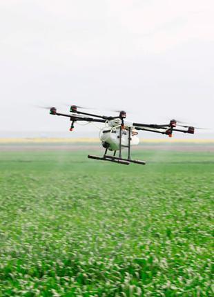 Десикация, внесение СЗР дронами, внесение гербицидов,опрыскивание