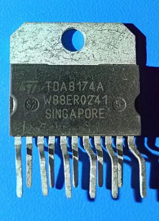Микросхема TDA8174A TDA8174 ZIP-11