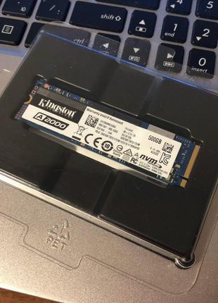 SSD Kingston A2000 500GB NVMe M.2 2280 PCIe 3.0 x4 3D NAND TLC