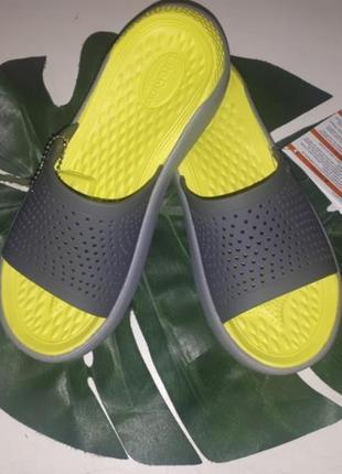 Шлепки crocs literide w6