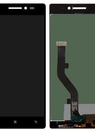 Дисплей lenovo vibe x2 complete black