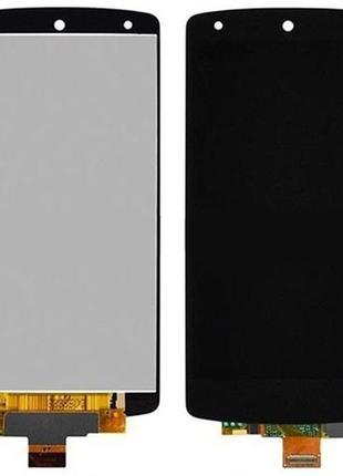 Дисплей lg nexus 5 d820, d821 complete black