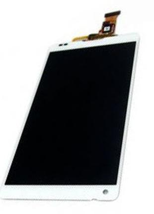 Дисплей sony xperia zl c6503 в сборе с сенсором white or