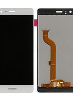 Дисплей huawei p9 plus (vie-l29) complete с рамкой white, уценка