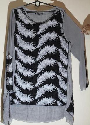 Блуза, туника в стиле бохо 52-54 guidance