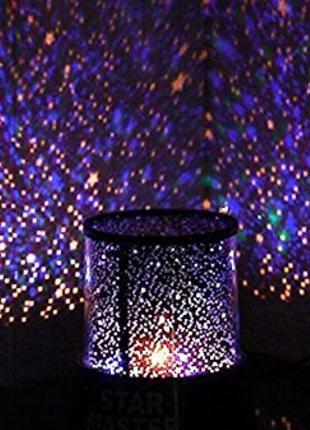 Детский светильник ночное небо на батарейках