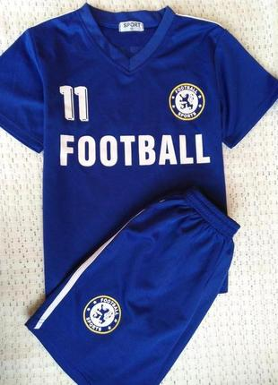 Детская футбольная форма 11 номер адидас (adidas)