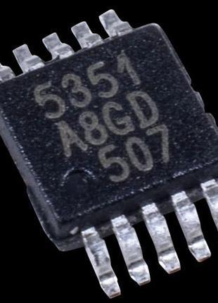Микросхема SI5351A-A-GTR SI5351A-B-GTR SI5351 5351 MSOP-10