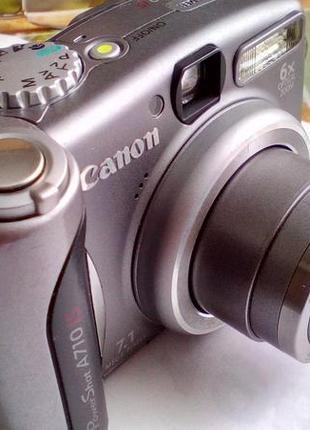 Цифровой фотоаппарат Canon PowerShot A710 IS (Япония)