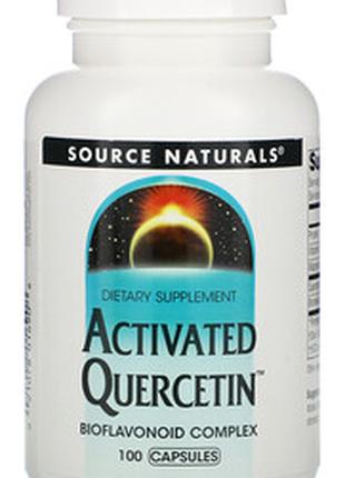 -20% Активированный кверцетин 1000мг с бромелаином, 100 капсул