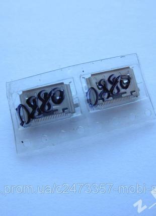 Коннектор зарядки Samsung B100, B200, B300, C270, C3200, C3510...