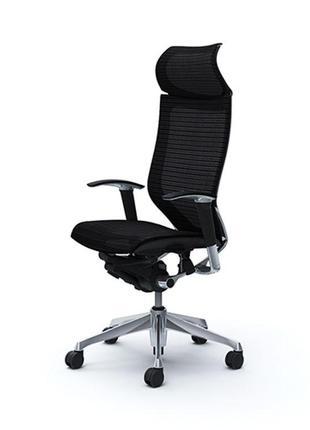 Кресло Офисное  Okamura CP сетка/сетка, серебряный