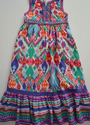 Хб платье monsoon на 8л