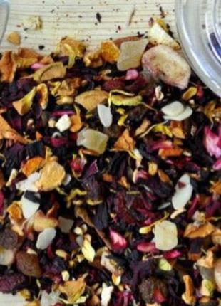Чай Нахальный фрукт, фруктовая смесь 250г