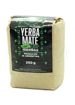 "Чай Мате фасований 250 г ""Hierbas"" (з травами) 100 г"