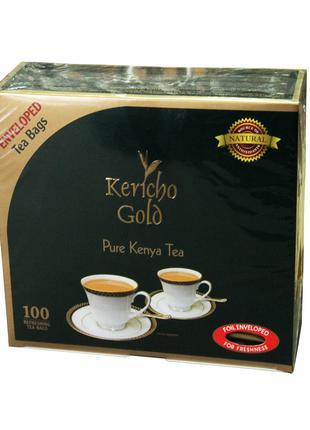 Чай Чорний пакетований чай «Керічо Голд» 100 шт по 2 г.