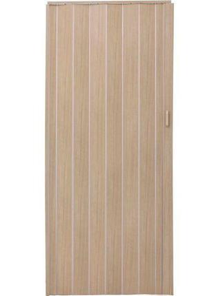 Двери-гармошка ПВХ Vinci Decor Melody 2030x820 мм мускатный ор...