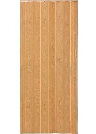 Двери-гармошка ПВХ Vinci Decor Melody 2030x820 мм светлый дуб ...