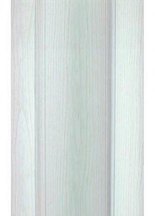 Двери-гармошка Vinci Decor Solo ПВХ 2030x820 мм арктический белый