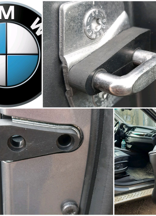 BMW X5E70. F30.Е60 Резиновый упор замка двери. Демпфер скобы.